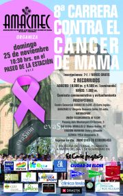 8ª CARRERA POPULAR CONTRA EL CANCER DE MAMA